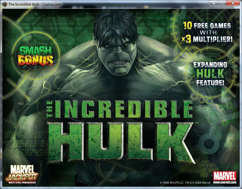 The Incredible Hulk เกมสล็อตแนวซุปเปอร์ฮีโร่เกมโปรดของใครหลาย ๆ คน