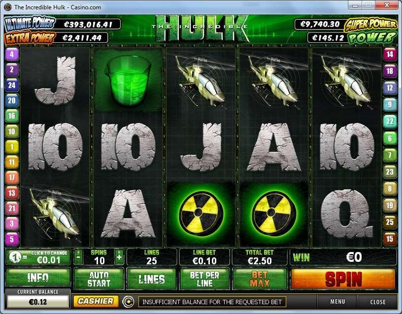 The Incredible Hulk เกมสล็อต