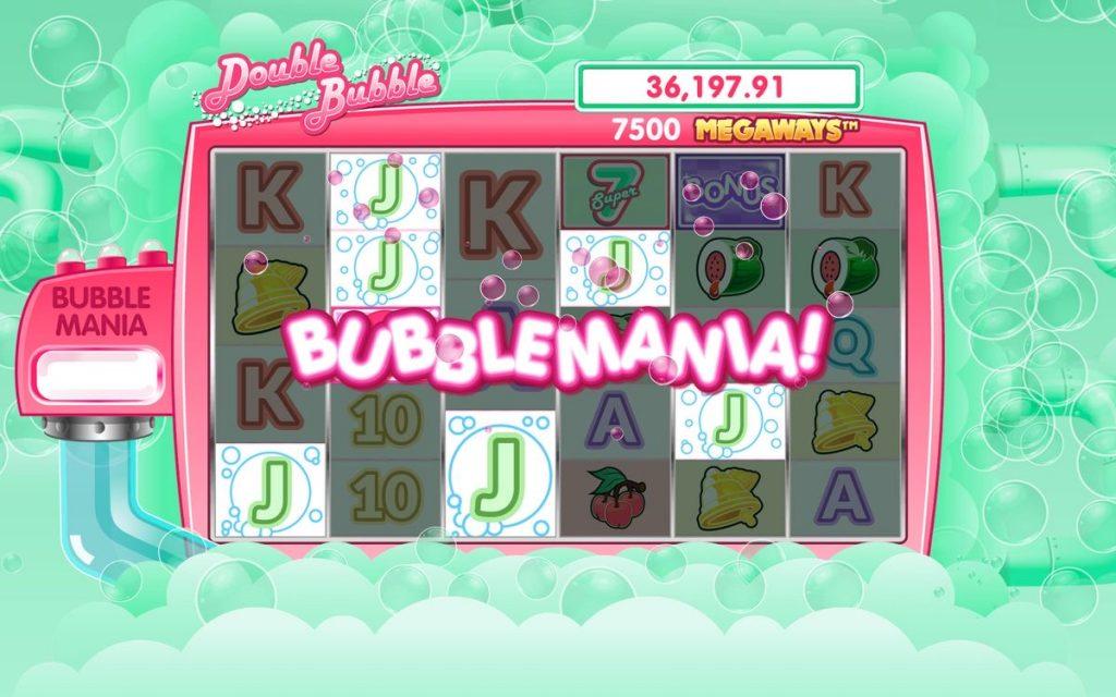 Double Bubble เกมพนัน